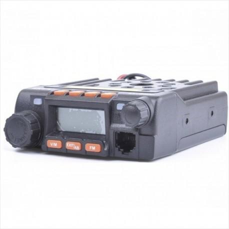 Mini Radio Base Móvil QYT KT8900, Doble Banda, 25Watt