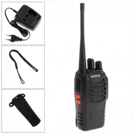 Radio Baofeng BF-888S UHF 16 Canales 400-470Mhz