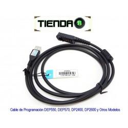 Cable de Programación DEP550, DEP570, DP2400 y Otros Modelos