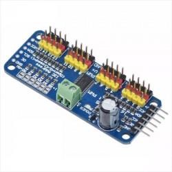 PCA9685 16 Canales PWM 12-bit I2C Servo SG90 MG90s MG995