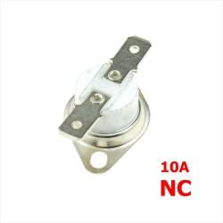 Termostato Interruptor KSD301 160 a 250 °C, 250V, 10A, NC,