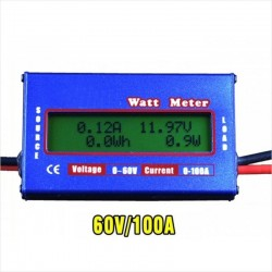 Watt Meter, Corriente DC, Multiples Usos!