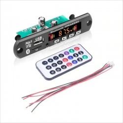 Módulo Blueetooth Reproductor MP3, Entrada 3.5mm, Slot Micro SD