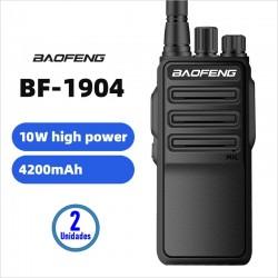 Par de Radios BF-1904 UHF Profesional Baofeng Alta Potencia