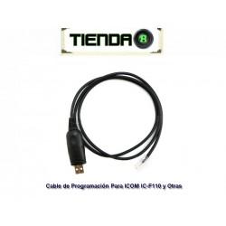 Cable Rib de Programación USB-RJ45 for ICOM IC-F110 y Otras
