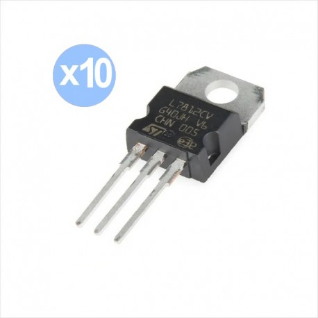 Pack 10 Regulador Voltaje Tensión 5v 7805 Lm7805 78l05
