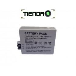 LP-E5 Batería Alternativa para Canon EOS 1000D, EOS 450D y Otras
