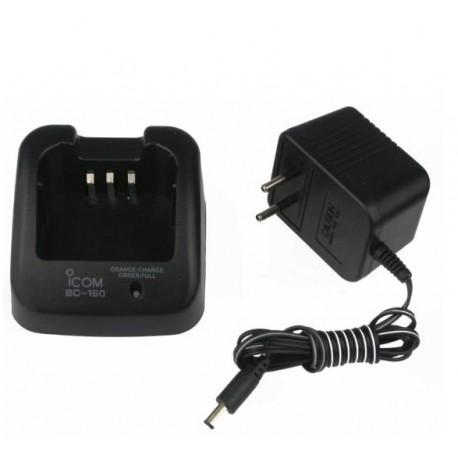 Cargador Para ICOM BC-160, Para Baterías BP-231 y BP-232
