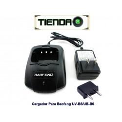 Cargador Para Radio Baofeng UV-B5/UV-B6