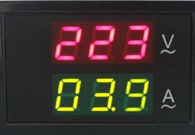 Voltímetros y Amperímetros Para Embutir